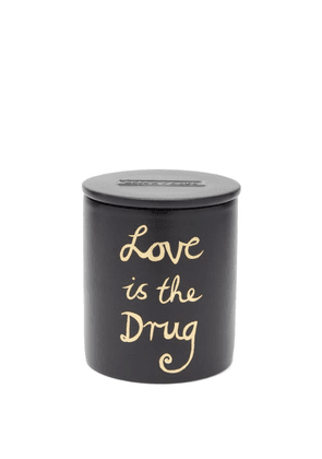 Bella Freud - Love Is The Drug Scented Candle - Womens - Black