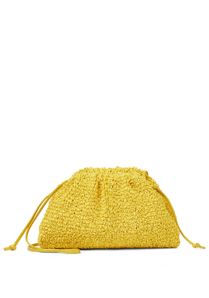 The Pouch Mini bouclé clutch
