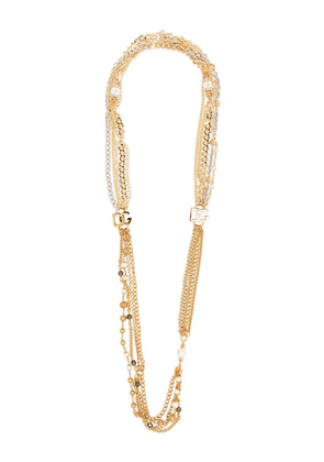 Dolce & Gabbana two-tone chain-link necklace - Gold