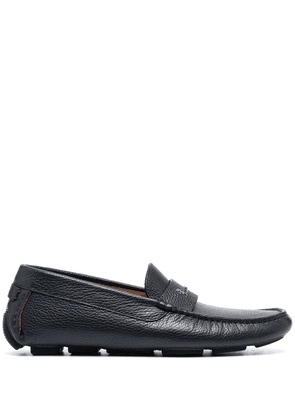 Billionaire Iconic leather loafers - Blue