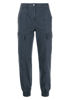Cinq A Sept Skinny Kelly cargo trousers - Blue