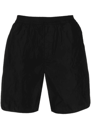 Valentino floral embroidered track shorts - Black