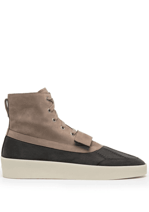 Fear Of God panel-detail ankle boots - Neutrals