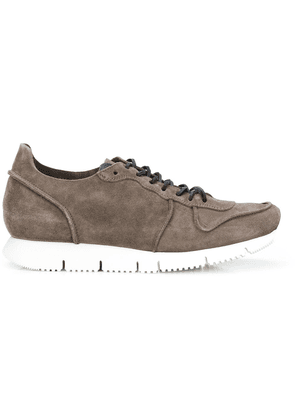Buttero stitched panel runner sneakers - Brown