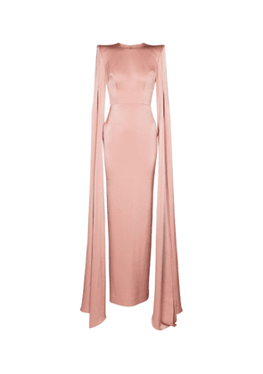 Exclusive to Mytheresa – Julian crêpe satin gown