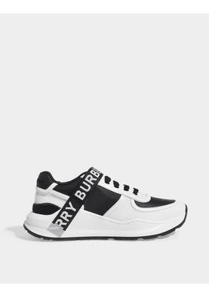 Burberry Ronnie Sneakers in White Leather