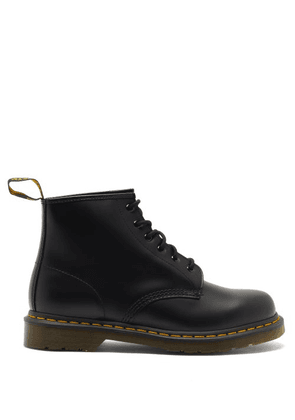 Dr. Martens - 101 Lace-up Leather Ankle Boots - Mens - Black