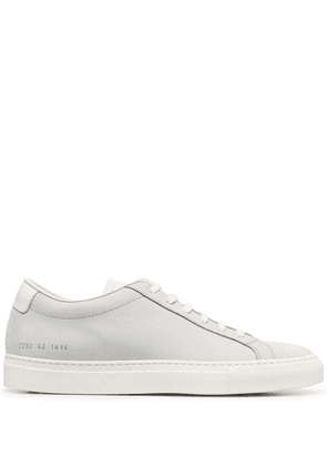 Common Projects flat lace-up sneakers - Grey