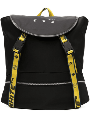 Off-White Industrial logo print backpack - Black