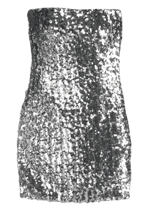 Faith Connexion sequin-embellished dress - Silver