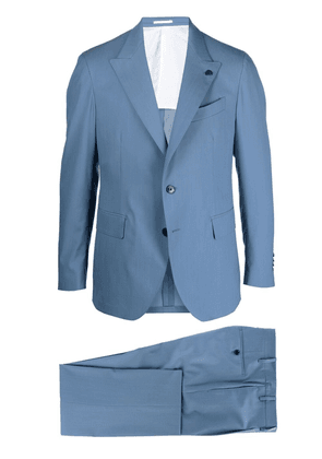 Gabriele Pasini single-breasted two-piece suit - Blue