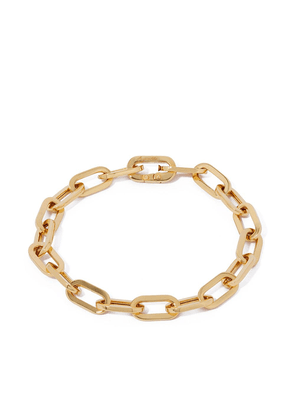 Annoushka 18kt yellow gold cable chain large bracelet