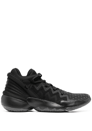 adidas by Pharrell Williams mesh panel low-top sneakers - Black