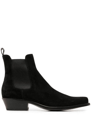 Buttero suede ankle boots - Black