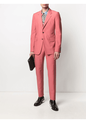 Alexander McQueen single-breasted tailored blazer - Pink