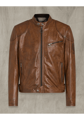 Belstaff SUPREME LEATHER JACKET Brown