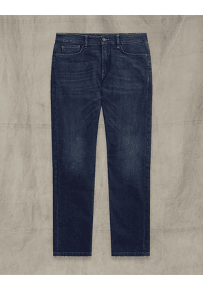Belstaff Poplar Denim Blue UK 34 /