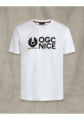 Belstaff OGC NICE Short Sleeve T-Shirt White