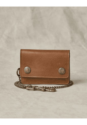Belstaff Trucker Leather Wallet Beige