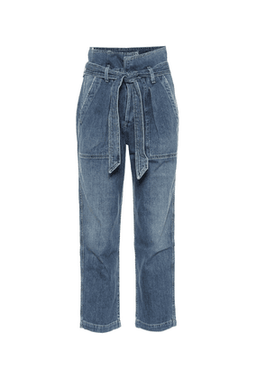 Noelle high-rise straight jeans