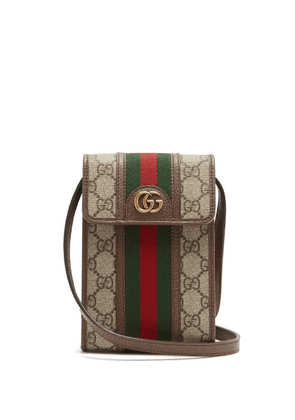 Gucci - GG Supreme Web-stripe Cross-body Bag - Mens - Multi