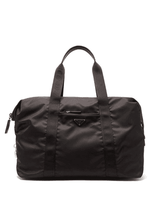 Prada - Padlock Nylon Holdall Bag - Mens - Black