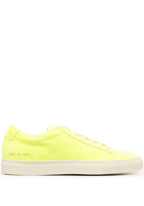 Common Projects low-top sneakers - Yellow
