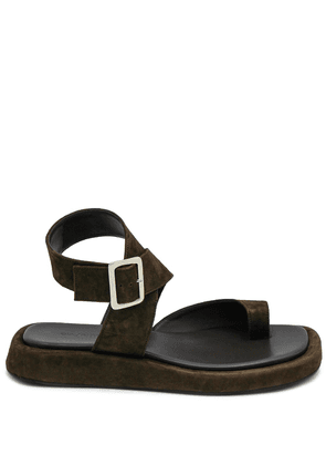 Gia Couture x RHW toe strap sandals - Brown
