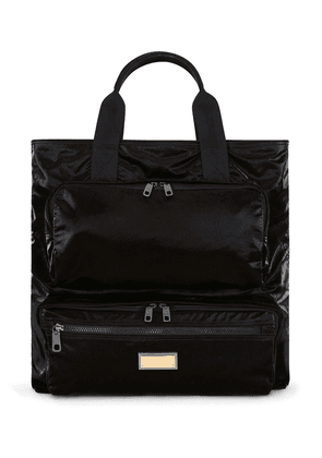 Dolce & Gabbana zip pocket tote bag - Black