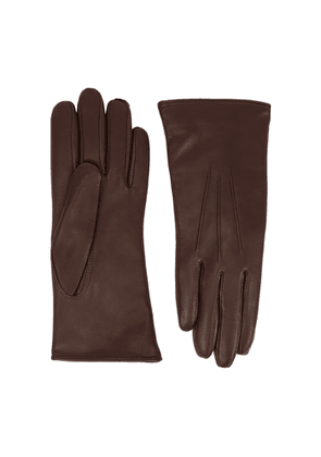 Dents Ripley Brown Leather Gloves