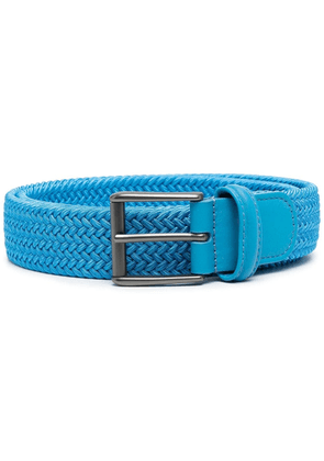 Anderson's woven buckle belt - Blue