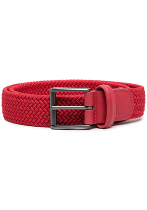 Anderson's woven buckle belt - Red