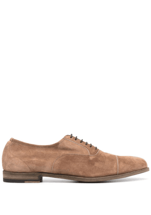 Fratelli Rossetti suede derby shoes - Neutrals