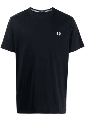 FRED PERRY Laurel Wreath embroidery T-shirt - Blue