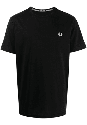 FRED PERRY Laurel Wreath embroidery T-shirt - Black