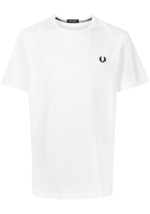 FRED PERRY Laurel Wreath embroidery T-shirt - White