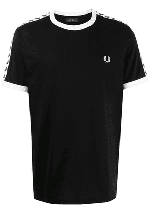 FRED PERRY Taped Ringer T-shirt - Black