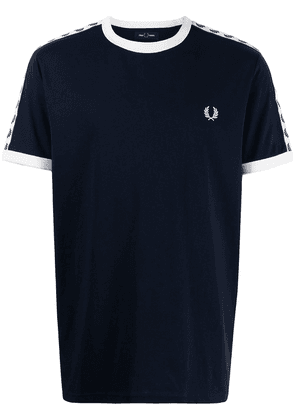 FRED PERRY Taped Ringer T-shirt - Blue