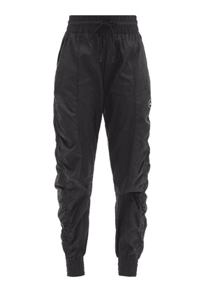 Adidas By Stella Mccartney - Tapered Recycled-ripstop Track Pants - Womens - Black