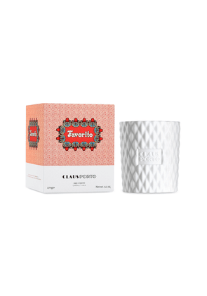 Claus Porto - Favorito Red Poppy-Scented Candle; 270g  - Color: Red - Material: OTNE (1-(1;2;3;4;5;6;7;8-Octahydro-2;3;8;8-tetramethyl-2-naphthalenyl)