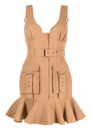 Acler Vermont dress - Brown