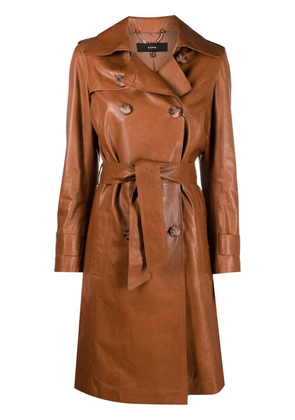 Arma belted trench coat - Brown
