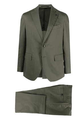 Gabriele Pasini single-breasted two-piece suit - Green