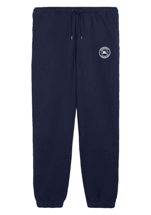 Burberry logo track trousers - Blue