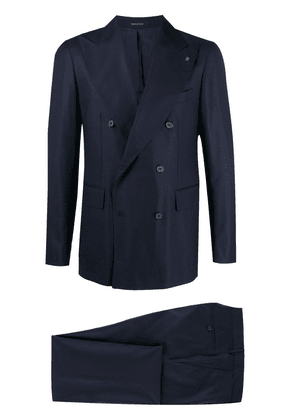Tagliatore double-breasted two-piece suit - Blue