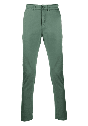 Department 5 mid-rise slim-fit trousers - Green