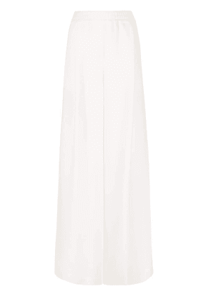 Off-White high-waisted wide-leg trousers - Neutrals