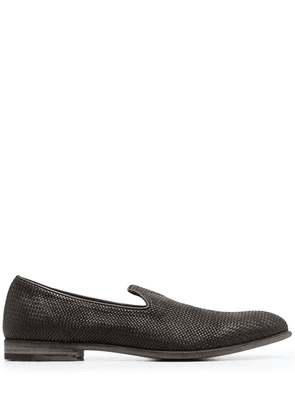 Fratelli Rossetti woven leather loafers - Brown