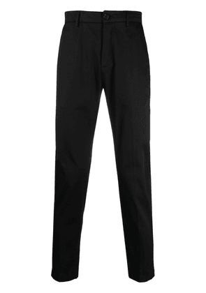 Department 5 high-rise slim-fit trousers - Black