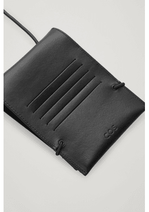LEATHER IPHONE 12 POUCH